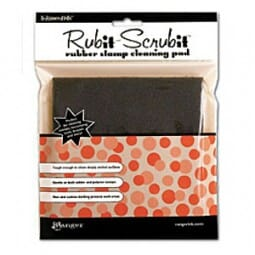 Ranger Ink - stamp and scrub - 6 x 6 Inch Foam Backed Scrubby