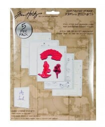 Ranger Ink - Unmounted Stamp Refill Pockets (5 p