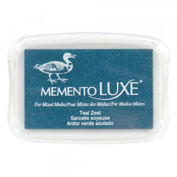 Tsukineko - Memento Luxe Teal Zeal
