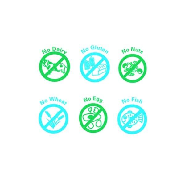 Teachers' Stamps - Dietary Awareness Set