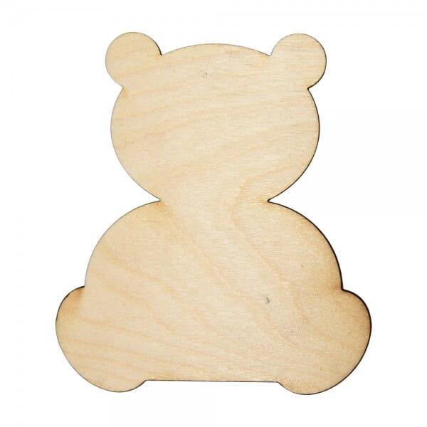 Craft Shapes - Teddy Bear blank