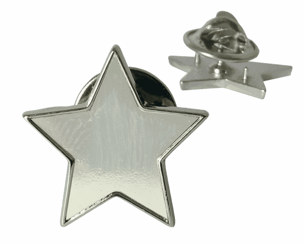 Silver Reward and Recognition Star Badges - 25mm