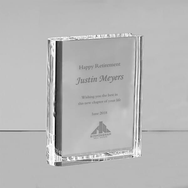 Custom Employee Award