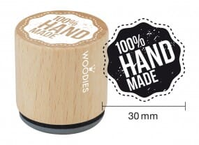 Woodies stamp 100% HANDMADE