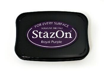 Tsukineko - Royal Purple StazOn Pad