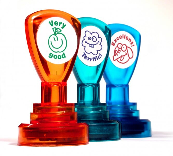 Teachers' Motivation Stamp - WATCH YOUR SPELLING