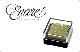 Encore Ultimate Metallic Small Ink Pads