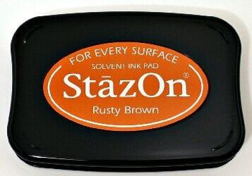 Tsukineko - Rusty Brown StazOn Pad