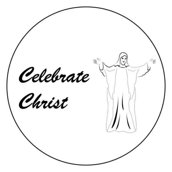 Craft Stamp - Celebrate Christ