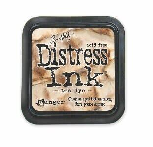 Ranger Ink - Tea Dye Distress Pad