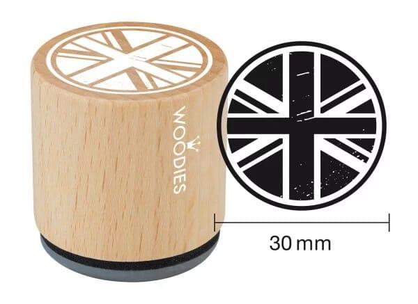 Woodies stamp Union Jack