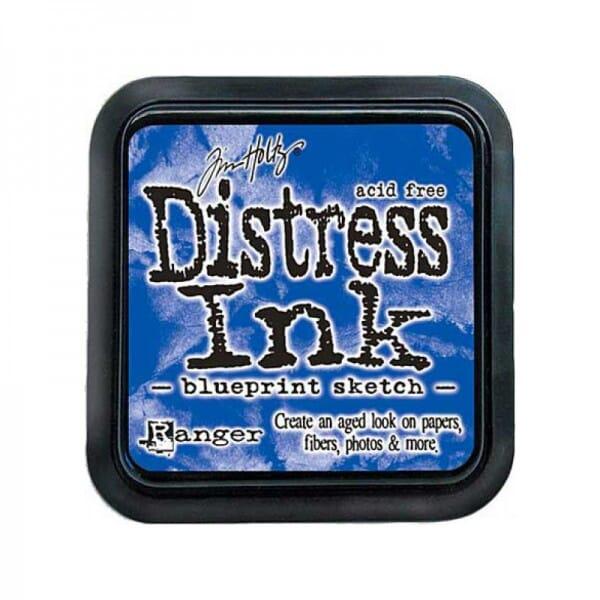Ranger Ink - July Distress Ink Pad Blueprint Sketch