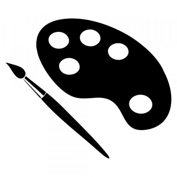 Bullet Journal Stamp - Arts & Crafts