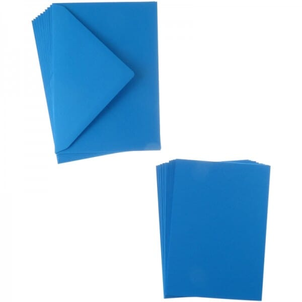 Sweet Dixie Turquoise A6 Card and Envelope Packs (10)