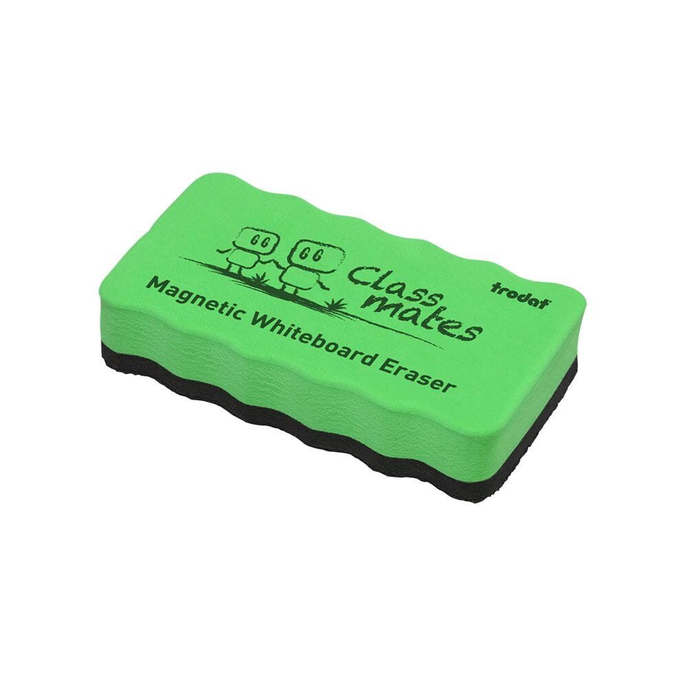 Magnetic Whiteboard Eraser Green Stamps4u Co Uk