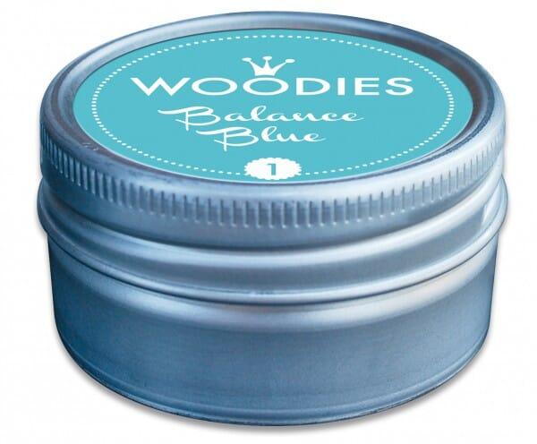 Woodies stamp pad Balance blue
