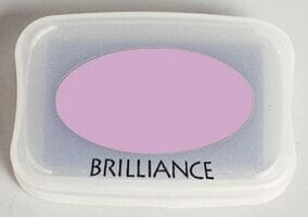 Tsukineko - Pearlescent Orchid Brilliance Pad