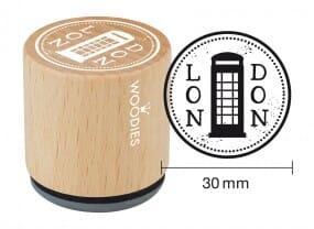 Woodies stamp Telephone Box
