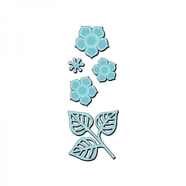 Sue Dix Designs - Pretty Petals Sweet Dixie Die
