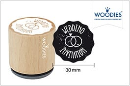 Woodies Wedding Stamps