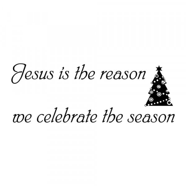 Craft Stamp - Jesus is the Reason