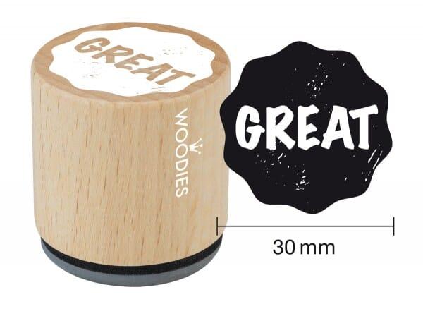 Woodies stamp Great