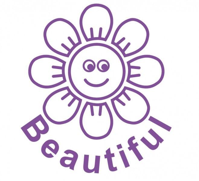 Trodat Printy 4922 - Beautiful Flower - violet