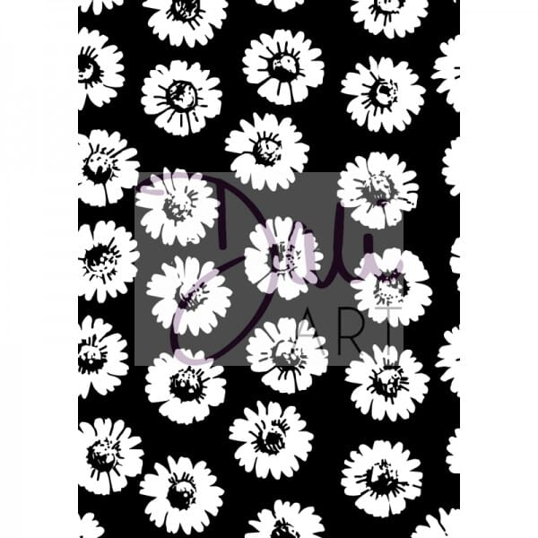DaliArt - DaliART Clear Stamp Floral Background A6