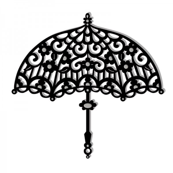 Sue Dix Designs - Filigree Parasol Sweet Dixie Die Summer Collection