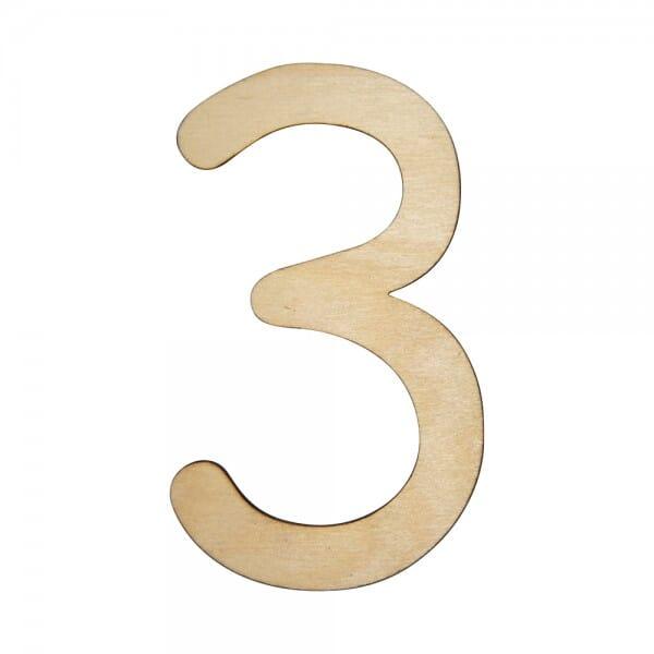 Craft Shapes - Number 3