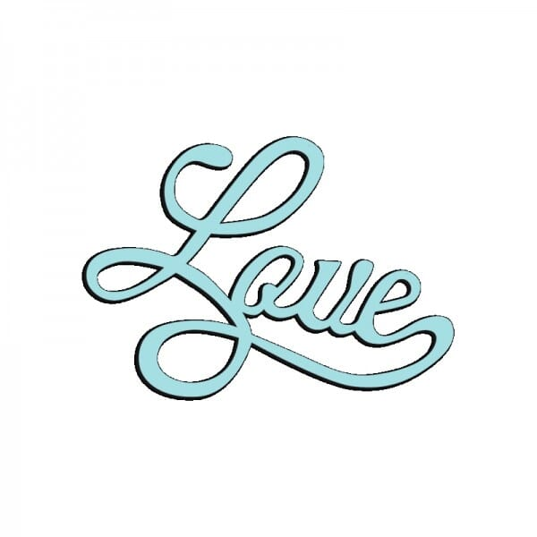 Sue Dix Designs - Love Mini Dies
