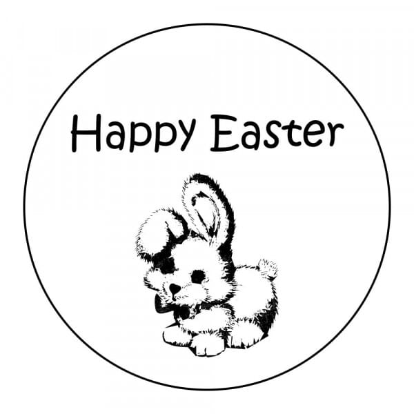 Craft Stamp - Happy Easter