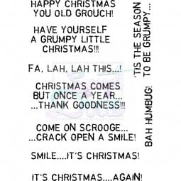 Lindsay Mason Designs - Christmas Comes But Once A Year Clear Stamp A6