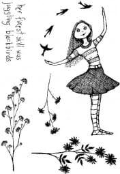 Lindsay Mason Designs - Clear Stamp - Gwendoline