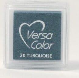 Tsukineko - Turquoise Versasmall Pad