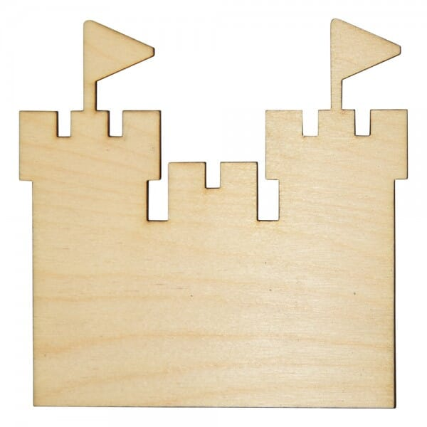 Craft Shapes - Castle