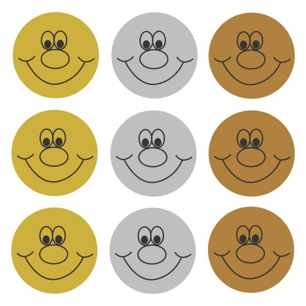 Bumper Pack Shiny Smiles; Gold, Silver, Bronze