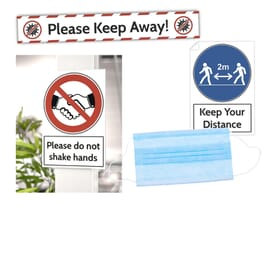 Standard Signs, Stickers, Floor Markers