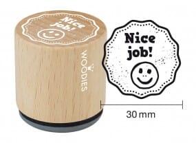 Woodies stamp Nice job!