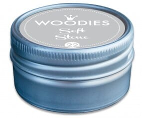 Woodies stamp pad Soft Stone