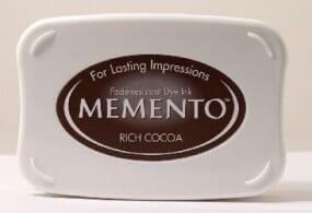 Tsukineko - Rich Cocoa Memento Ink Pad
