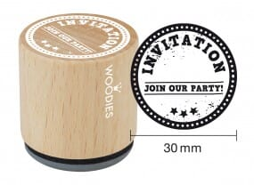 Woodies stamp Invitation Join our party!