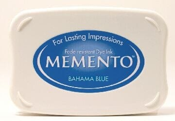 Tsukineko - Bahama Blue Memento Ink Pad