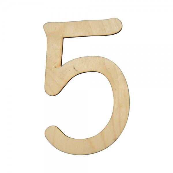 Craft Shapes - Number 5