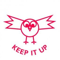 Teachers' Motivation Stamp - KEEP IT UP