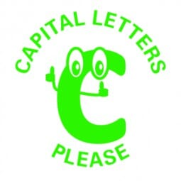 Teachers' Motivation Stamp - CAPITAL LETTERS PLEASE