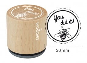 Woodies stamp You did it!