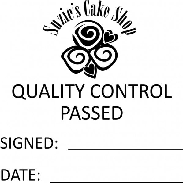 Customised Quality Control Inspection Stamp - Quality Control Passed