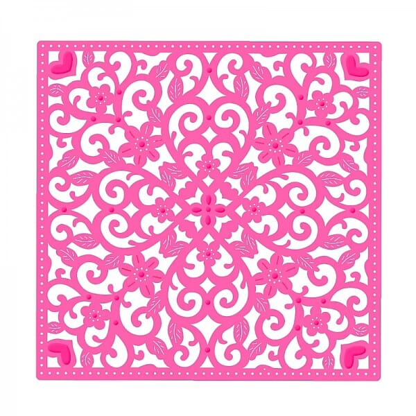 Sweet Dixie Decorative Background Die by Sue Dix