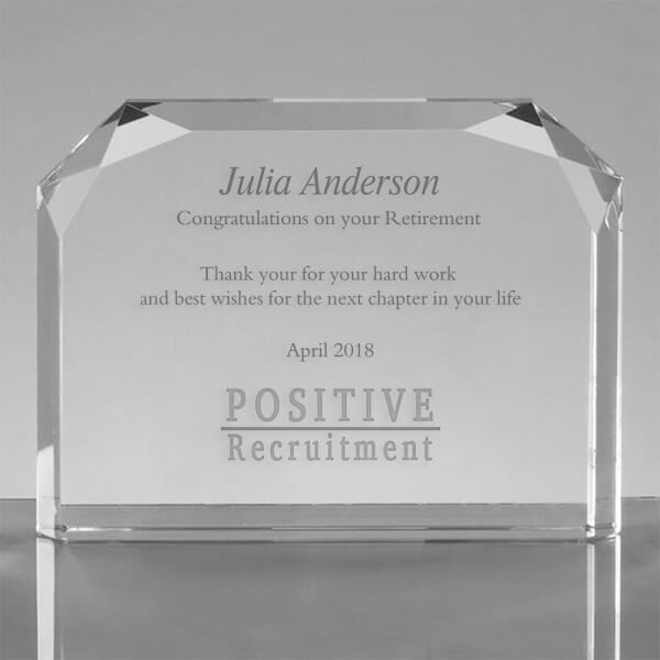 Custom Employee Award